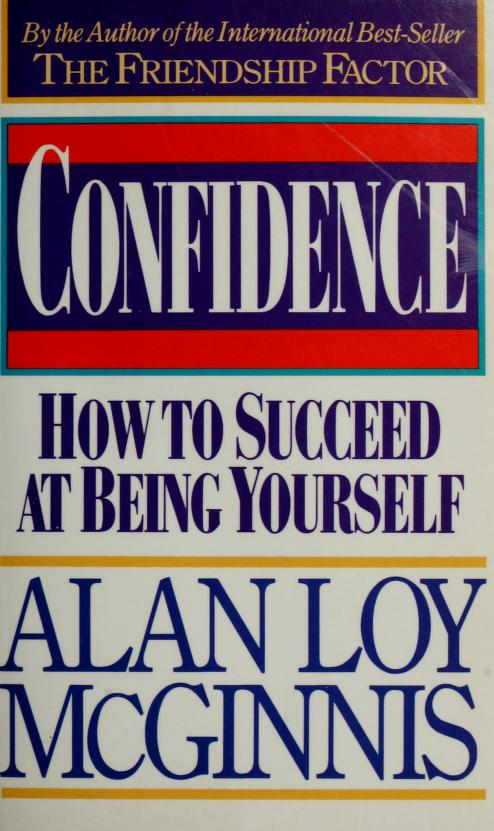 Confidence by Alan Loy McGinnis