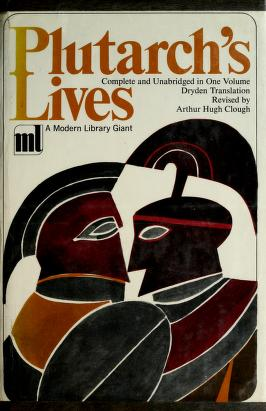 Cover of: Lives | Plutarch